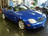 1998 Bahama Blue Metallic Mercedes-Benz SLK 230 Kompressor Roadster #24264247