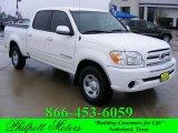2005 Natural White Toyota Tundra SR5 Double Cab #24261948