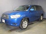 2008 Blue Streak Metallic Toyota Highlander 4WD #24264226