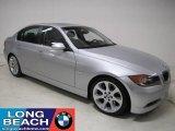 2007 Titanium Silver Metallic BMW 3 Series 335i Sedan #24262798