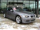 2007 Space Gray Metallic BMW 3 Series 335i Coupe #24259979