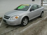 2007 Ultra Silver Metallic Chevrolet Cobalt LS Coupe #24260983