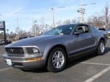2007 Tungsten Grey Metallic Ford Mustang V6 Deluxe Coupe #24247808