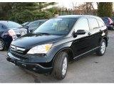 2007 Nighthawk Black Pearl Honda CR-V EX 4WD #24254384