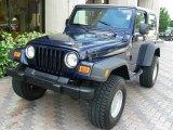 2006 Midnight Blue Pearl Jeep Wrangler X 4x4 #24272846