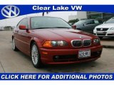 2001 Siena Red Metallic BMW 3 Series 325i Coupe #24333893