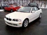 2003 Alpine White BMW 3 Series 325i Convertible #24316083