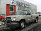2005 Silver Birch Metallic Chevrolet Silverado 1500 LS Regular Cab 4x4 #24332908