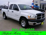 2006 Bright White Dodge Ram 1500 ST Quad Cab #24322976