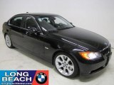 2007 Jet Black BMW 3 Series 335i Sedan #24323825