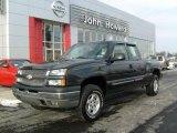 2003 Dark Gray Metallic Chevrolet Silverado 1500 LS Extended Cab 4x4 #24332906