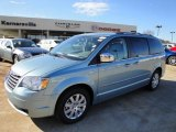 2010 Clearwater Blue Pearl Chrysler Town & Country Touring #24327669