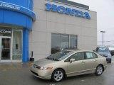 2007 Borrego Beige Metallic Honda Civic EX Sedan #24310167