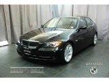 2007 Jet Black BMW 3 Series 335i Sedan #24354740