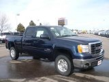 2009 Midnight Blue Metallic GMC Sierra 2500HD SLT Crew Cab 4x4 #24354790