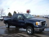 2009 Midnight Blue Metallic GMC Sierra 2500HD SLE Crew Cab 4x4 #24354798