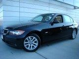 2007 Black Sapphire Metallic BMW 3 Series 328xi Sedan #24363415