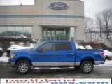 2010 Blue Flame Metallic Ford F150 XLT SuperCrew 4x4 #24363380