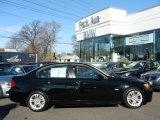 2008 Jet Black BMW 3 Series 328i Sedan #24363443
