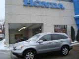 2007 Glacier Blue Metallic Honda CR-V EX-L 4WD #24363528