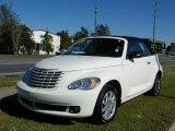 2007 Cool Vanilla White Chrysler PT Cruiser Convertible #24387595