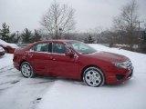 2010 Sangria Red Metallic Ford Fusion SE #24387619