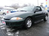 2002 Forest Green Metallic Chevrolet Cavalier Coupe #24387418