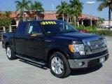 2010 Tuxedo Black Ford F150 Lariat SuperCrew #24387539
