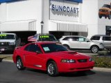 2003 Torch Red Ford Mustang V6 Coupe #2437610