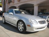2001 Brilliant Silver Metallic Mercedes-Benz SLK 230 Kompressor Roadster #24387641