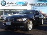 2007 Jet Black BMW 3 Series 328xi Coupe #24387485