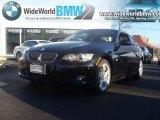 2007 Jet Black BMW 3 Series 328xi Coupe #24387486