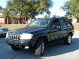 2002 Black Jeep Grand Cherokee Limited 4x4 #2434391