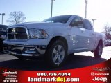 2010 Stone White Dodge Ram 1500 Big Horn Crew Cab #24387770