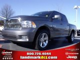 2010 Mineral Gray Metallic Dodge Ram 1500 SLT Crew Cab #24387773
