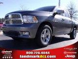 2010 Mineral Gray Metallic Dodge Ram 1500 SLT Crew Cab #24387779