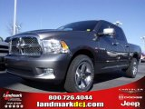 2010 Mineral Gray Metallic Dodge Ram 1500 SLT Crew Cab #24387782