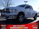 2010 Stone White Dodge Ram 1500 Big Horn Quad Cab #24387784