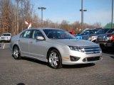 2010 Brilliant Silver Metallic Ford Fusion Sport #24387810