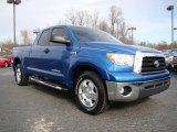 2007 Blue Streak Metallic Toyota Tundra SR5 TRD Double Cab #24387825
