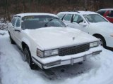 Cadillac DeVille 1988 Data, Info and Specs