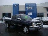 2005 Dark Blue Metallic Chevrolet Silverado 1500 LS Extended Cab 4x4 #24387879