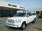 2005 Natural White Toyota Tundra SR5 Double Cab #24436452