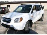 2007 Taffeta White Honda Pilot EX-L 4WD #24436423