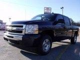 2010 Imperial Blue Metallic Chevrolet Silverado 1500 LT Crew Cab 4x4 #24436820