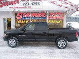 2004 Black Dodge Ram 1500 SLT Quad Cab 4x4 #24436807
