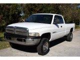 2001 Bright White Dodge Ram 2500 ST Quad Cab 4x4 #24436600