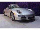 2008 Arctic Silver Metallic Porsche 911 Carrera S Coupe #24436763