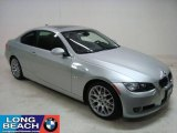 2007 Titanium Silver Metallic BMW 3 Series 328i Coupe #24436752