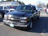2006 Black Chevrolet Silverado 1500 Extended Cab #24436507